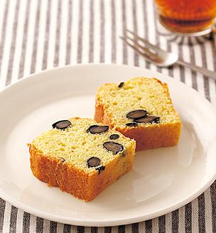 黒豆と柚子のパウンドケーキ