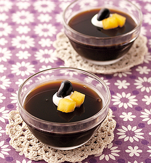 黒豆コーヒーゼリー