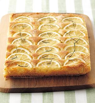 レモンとローズマリーのケーキ