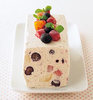 ミックスフルーツアイスケーキ
