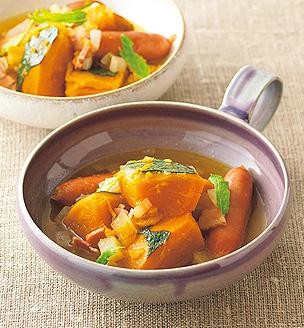 かぼちゃのスープ煮