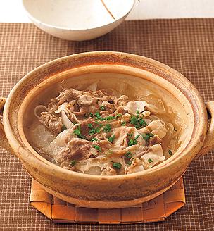大根と豚肉の重ね煮