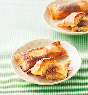 バナナチーズ春巻き