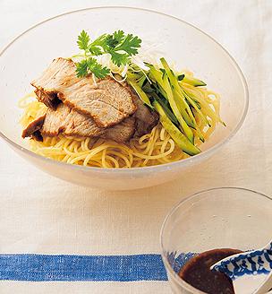 味噌チャーシューの冷麺