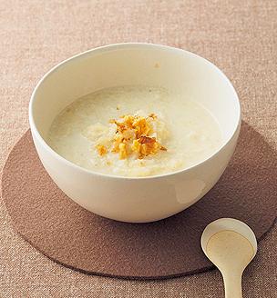 カリフラワーのジンジャースープ
