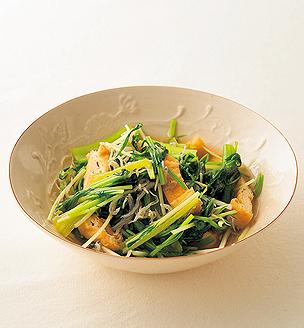 青菜と薄揚げの煮びたし