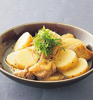 鶏肉と長芋のさっと煮