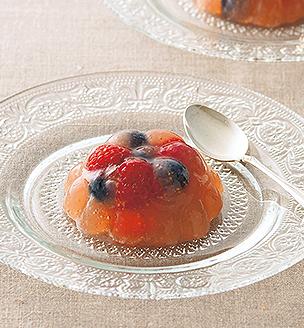 赤い果実のジュレ