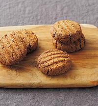 きな粉と全粒粉のクッキー