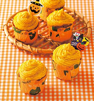 かぼちゃクリームのマフィン