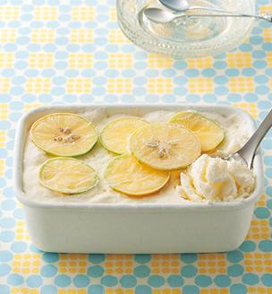 はちみつとレモンのアイス