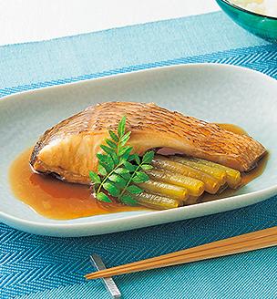 鯛とふきの煮つけ