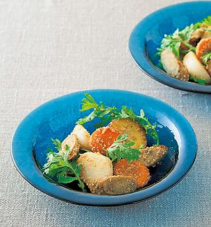 秋の焼き野菜サラダ