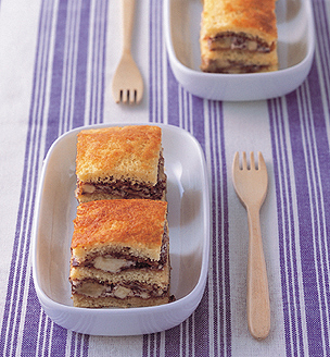ズコット風ケーキ