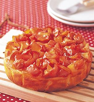 りんごのチーズケーキ