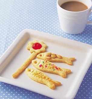 こいのぼりのクッキー