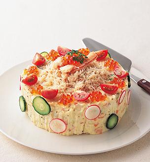 デコレーション・ポテトサラダ