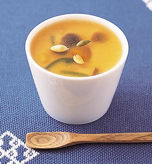 かぼちゃのあんかけ茶碗蒸し