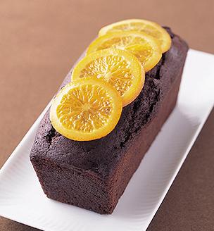オレンジとチョコのパウンドケーキ