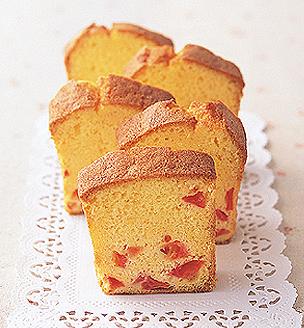 トマトのパウンドケーキ