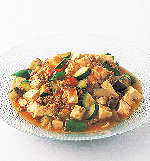 野菜たっぷりの麻婆豆腐