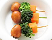 ソース卵と野菜のスティック