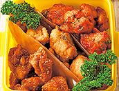鶏の唐揚げ3種