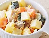 野菜たっぷり ロシア風サラダ