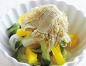 夏野菜の甘酢漬け