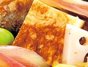 さんまの蒲焼きのばらずし ■はんぺん入り卵焼きをつくる。