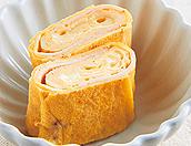 卵焼きのハムチーズ巻き