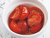 ミニトマトの はちみつしょうゆマリネ