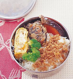 焼き鮭のおべんとう