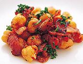 ひよこ豆のトマトソテー