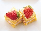いちごの簡単ショートケーキ